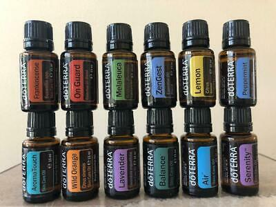 Genuine doTERRA Essential Oil 15ml NEW/SEALED ~ Exp 2023/2024 ~ Free Shipping