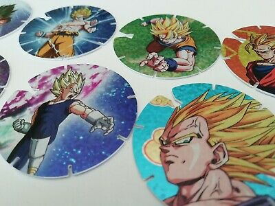 DRAGON BALL Z Coleccion Completa 30 Tazos GAMESA Complete Set Cartas Cromos Toys