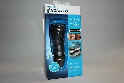 Philips Norelco Electric Shaver 3600 with Click-On Stubble Guard S3560/88