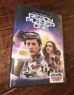 Ready Player One DVD - NEW - Includes Bonus Disc
