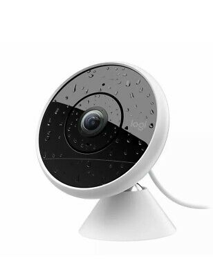 LOGITECH Circle 2 Wired Indoor/Outdoor 1080p HD Wide-Angle Home Security Camera