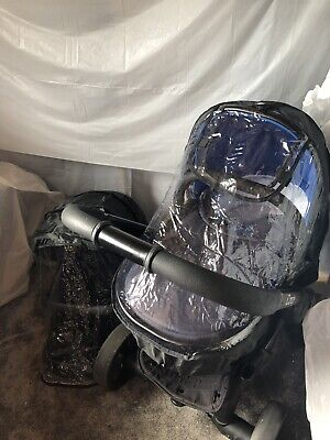 iCandy Peach 3 Carrycot And Seat Replacement Raincovers X 2 Included