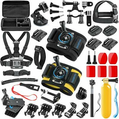 Accessories Kit Sports Action Camera for GoPro Hero Mount Set 42in1 Bundle Strap