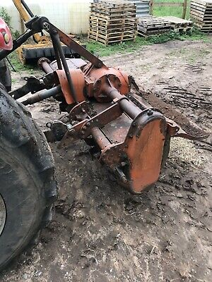 Howard 60 Inch Rotovator / Tractor/ Cultivator / Plough