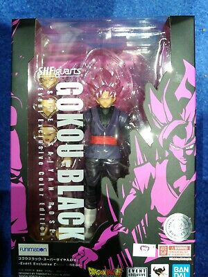 Sdcc 2019 Tamashii Nations S.h. Figuarts Goku Black Super Saiyan Rose Event Dbz