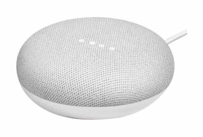 Google Home Mini Smart Assistant - Chalk, Red and Charcoal Colors