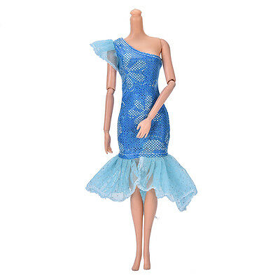 "Fashion Beautiful Handmade Party Clothes Dress for 9"" Doll Mini LovelysTB"