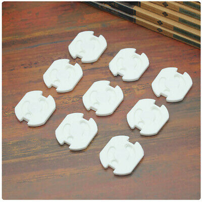 10Pcs Baby Safety Sower Socket Protection Cover Insulation Hole Round