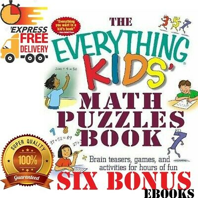 THE EVERYTHING KIDS: Math Puzzles Book Brain Teasers Games Activities PDF EBOOKS