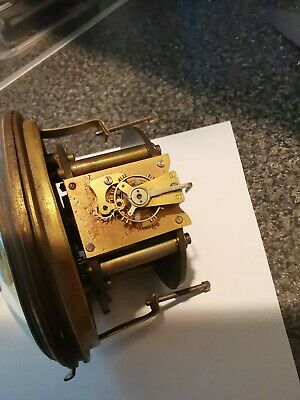 Antique Clock Movement fully working 8day single train time peice