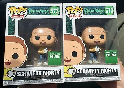 Funko Pop! Schwifty Morty #573 - Barnes & Noble Exclusi Comes with Box Protector