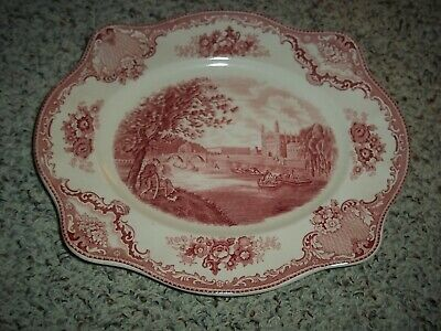 Johnson Bros Old Britain Castles Oval Serving Platter-Euc!!!