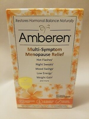 Amberen Menopause Relief Promotes Hormonal Balance, 60 capsules