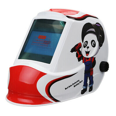 Solar Power Automatic Dimming Welding Helmet Welding Mask Large Vision Window