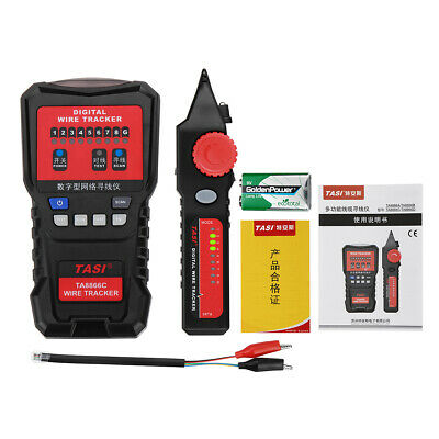 TA8866C Line Finder Network Cable Tester Telephone Line Checker