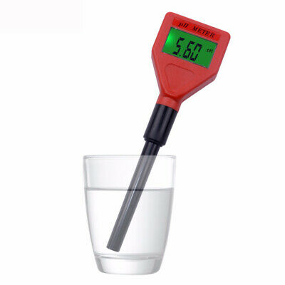 PH Meter with Backlight LCD Display Acidimeter Tester Experiment Measuring Water