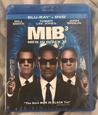 Men in Black 3 (Blu-ray/DVD)Brand new