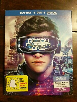 Ready Player One with case ***DVD ONLY***