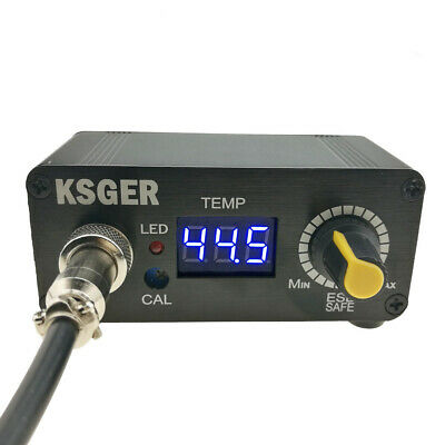 KSGER MINI STC LED T12 Soldering Iron Soldering Station Temperature Controller U