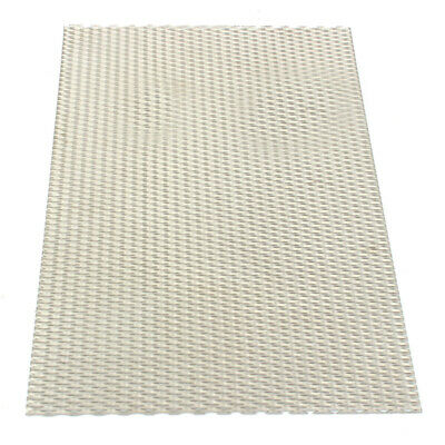 300x200mm Titanium Metal Mesh Perforated Diamond Holes Plate 1mm