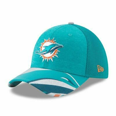 Miami Dolphins Hat On Stage Draft Cap New Era 39THIRTY Flex Fit Hat
