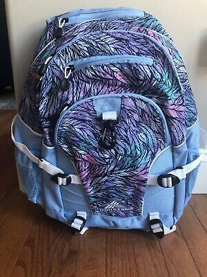 High Sierra Loop Backpack, Feather Spectre/Powder Blue/White