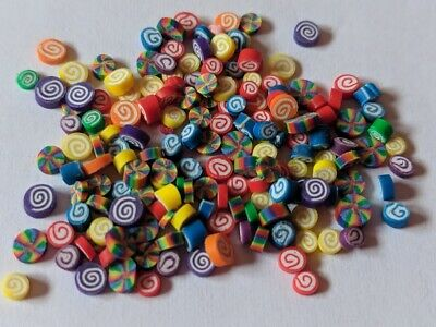 Dollhouse Miniature food Candy -  Rainbow Assorted Candies