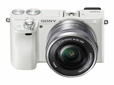 Sony Alpha Sony A6000 24.3MP Digital Camera - WHITE ****NEW IN UNOPENED BOX****