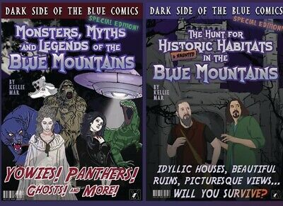 Dark Side of The Blue Comics - TWIN DEAL!