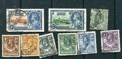 Lot  stamps  of   Northern Rhodesia