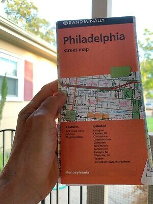 Rand McNally Philadelphia Street Map