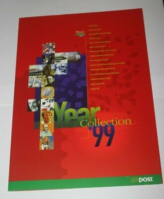 Ireland: 1999  Official An Post Stamp Presentation Year Pack – 38 Mint stamps