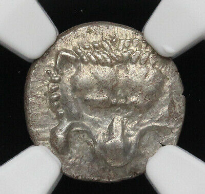 DYNASTS of LYCIA, Mithrapata. Silver 1/6 Stater, 390-360 B.C. NGC Ch AU