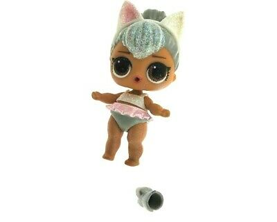 LOL Surprise Doll Glam Glitter Series - Kitty Queen Ultra Rare GG-001 Preowned
