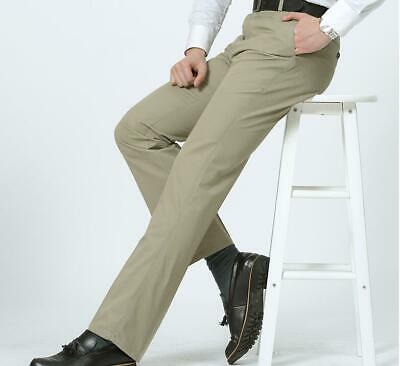 New Arrival Mens Business Outdoors Straight-Leg Pants Casual Bib Overall Trouser