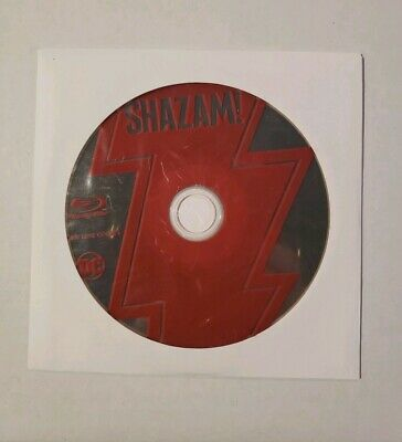 Dc Comics Shazam! Blu-Ray Disc Only - New And Unwatched!!!