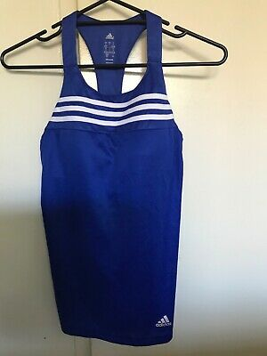 Ladies ADIDAS Sports Exercise Top for gym size US S