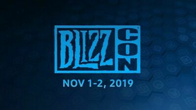 (1-4) BlizzCon 2019 Pass Tickets (Footman) + All Goodies