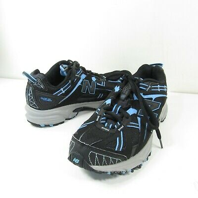 9bb18ebe0660f New Balance Womens Sz 9.5 D Black Blue Trail Running All Terrain Shoes  WT411BB