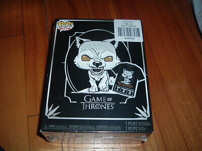 Funko Pop! Game Of Thrones Nymeria Box~ Sealed~ Hot Topic Exclusve~ L T & Pop