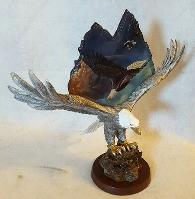 "Collectible Eagle Sculpture -Ted Blaylock: ""Summit Master"" NEW in Packaging"