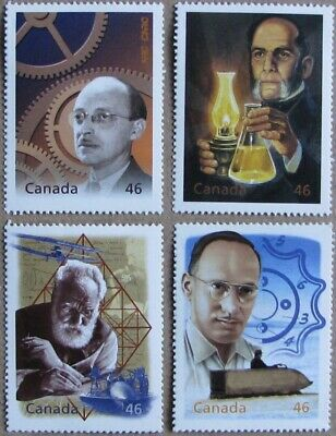 #1832a-d:  CANADA MNH 4 stamps from Hardbound Millennium Book