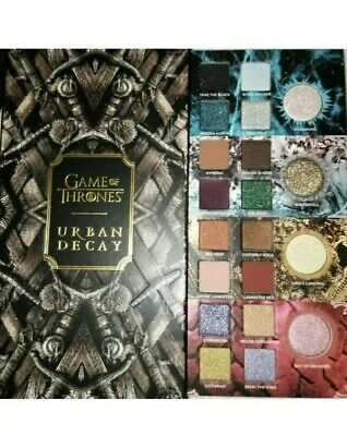 HBO Game of Thrones xUrban Decay   Eye Shadow Palette Makeup   Limited Edn NIB