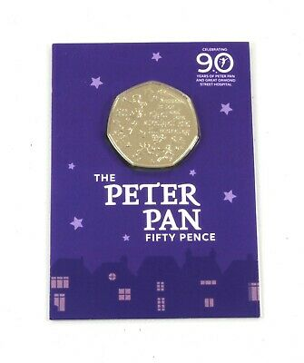 New IOM Peter Pan 50p to support Great Ormond Street Hospital