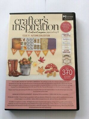 crafters companion inspiration cd rom