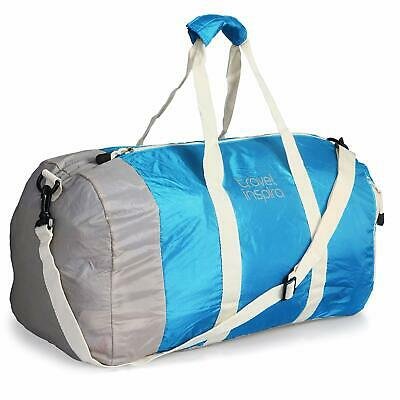 The sport travel bag for men and women folding is waterproof and easy to ride