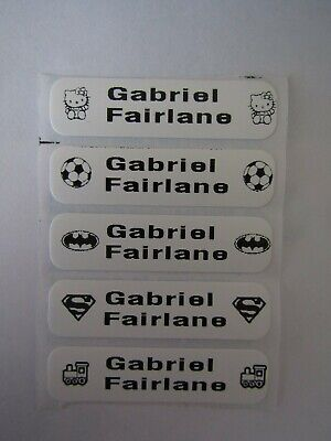Iron on Printed School Uniform/Cloth washable washproof name labels/tags/tapes