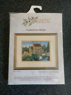 KINETIC Counted Cross Stitch Set KCS 07 MILL HOUSE