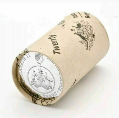 2016 Changeover of Decimal Currency -  20 Cents RAM Mint Coin Roll Australia