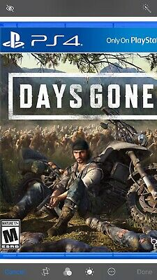 Days Gone -- (Sony PlayStation 4, 2019) PS4